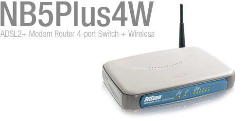 NetComm NB5Plus4W