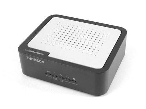 How to Configure and Reset Technicolor / Thomson TCM 420 Router